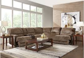 Sectional Sofas Rooms To Go by Riverbrook Coffee 9 Pc Reclining Sectional Living Room Reclining