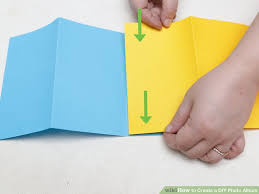 photo album paper 3 ways to create a diy photo album wikihow