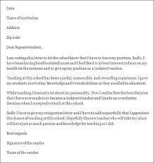 teacher resignation letters thank you letter kindergarten teacher