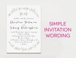 Simple Wedding Program Examples Wedding Invitation Format Ivory Interesting Elegance Leaf Pattern