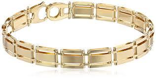solid bracelet images Men 39 s 14k yellow gold solid fancy bracelet 8 5 quot jewelry jpg