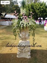 Wedding Rental Decorations Fiber Pots Decorations On Rent Lucky Wedding Rental