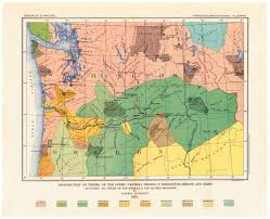 Map Of Idaho And Washington by Native American Tribe Map Northwest Map Of Pacific Northwest