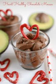 heart healthy chocolate mousse crazy for crust