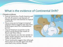 continental drift a2 geography