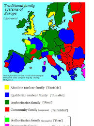 Europe Map 1500 Todd U0027s Family Systems Map 1500 1900