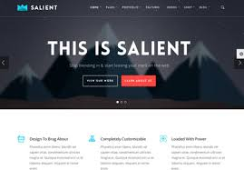 Web design themes and templates