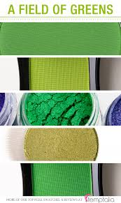 5 bright green eyeshadows to try