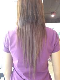long straight hair back view how to cut layers out of long hair