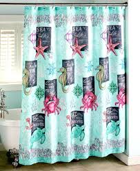 sea glass green shower curtain smlf