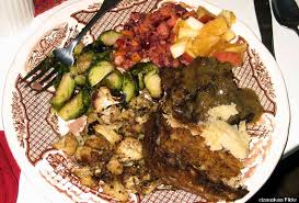 look can you guess how many calories are on your thanksgiving plate