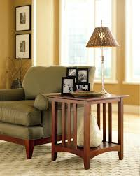 End Table Lamp Combo Side Table With Lamp Side Tables Side Table With Lamp And Magazine