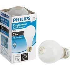 rough service light bulbs buy philips rough house a19 incandescent rough service light bulb