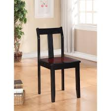 linon home decor camden black cherry wood office chair