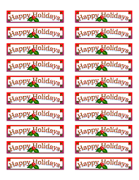 10 best images of avery christmas labels to print free avery