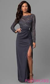 lace wedding guest dresses gunmetal wedding guest dress with lace promgirl