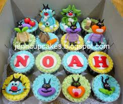jenn cupcakes u0026 muffins oggy u0026 cockroaches cupcakes
