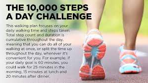 Challenge Steps Walk 10 000 Steps A Day Mindful By Sodexo