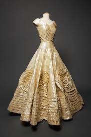 paper wedding dress paper replica of jacqueline bouvier s wedding dress f