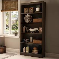 Wood Bookshelves by The South Shore Axess Wood Bookcase