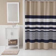 Overstock Shower Curtains Izod Classic Stripe Shower Curtain Free Shipping On Orders Over