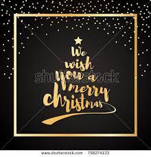 we wish you merry quote stock vector 758274133