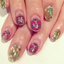 art design nails sailormoon nailart avarice kayo nailsalon