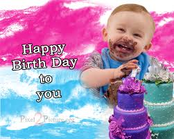 baby s birthday birth day greetings scraps happy birth day to you my dera baby happy