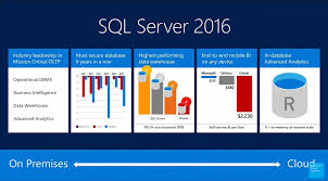 sql server 2016 launch showcases r revolutions