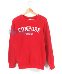compose sweatshirt tshirt top unisex