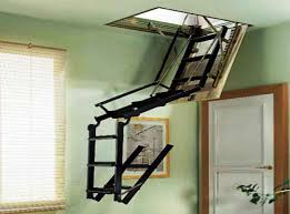 ideas for pull down attic stairs insulation loft attic access ladder