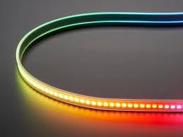 diy led strip light adafruit dotstar digital led strip white 144 led m one meter