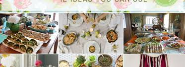 Simple Baby Shower Ideas by Spring Baby Shower Menu Ideas Definitely Delish Doable