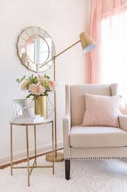 bedrooms light pink and gold bedroom gold and pink living room