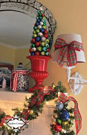 Christmas Topiaries Opulent Cottage Christmas