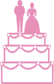 wedding cake clipart wedding cake pink clip at clker vector clip online