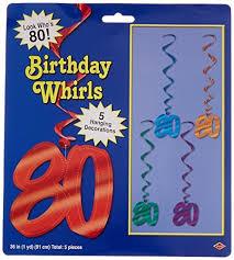 80th Birthday Party Decorations 80th Birthday Party Decorations Amazon Com