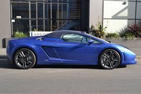 Lamborghini Gallardo Blue - rare blue gallardo spyder 5 madwhips