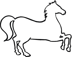 animals outline clipart 51