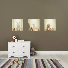 Childrens Bedroom Wall Art Uk 3d Illusion Niches For Baby Repositionable And Removable Textile