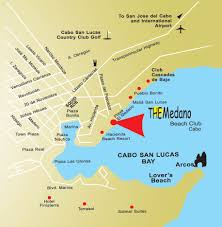 Map Of Old Mexico by Map The Medano Beach Club Cabo Cabo San Lucas Mexico