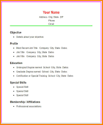 Resume Com Samples by Basic Resume Examples Basic Resume Sample Format Basic Resume