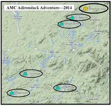 Adirondack Mountains Map Home Broadwing Adventures