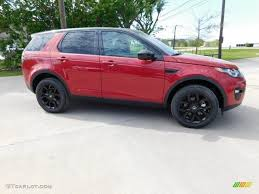land rover discovery 2016 red 2016 firenze red metallic land rover discovery sport hse 4wd