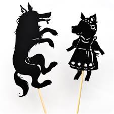 pig shadow puppet printables adventure box