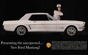 ford mustang 1964 today in history 1964 ford mustang debuts