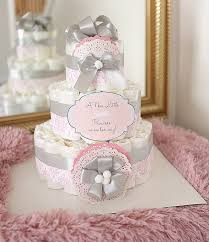 pink and gray baby shower baby shower cakes lovely baby shower per cakes baby shower
