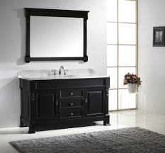 60 inch bathroom vanity single sink ideas