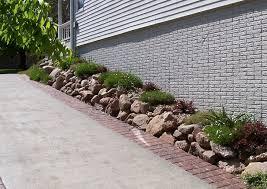 low maintenance landscaping blueslate woodstone haammss