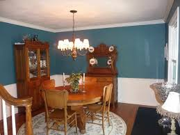 dining room color schemes chair rail caruba info